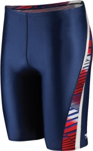 Speedo Variegated Lanes PowerPLUS Jammer Male