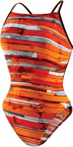 Speedo Color Stroke Cross Back Female
