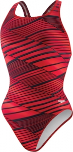 Speedo Variegated Lanes PowerPLUS Drop Back Female