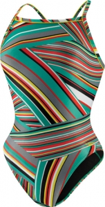 Speedo Rainbow Stripe Flyback Female