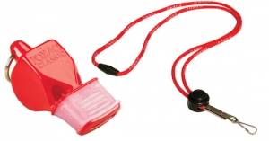 Fox 40 Classic CMG Safety Whistle with Breakaway Lanyard