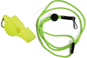 Fox 40 Mini Safety Whistle with Breakaway Lanyard
