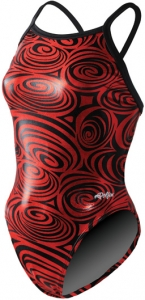Dolfin Metallic Disco V-2 Back Female