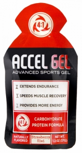 Accel Advanced Sports Gel Strawberry Kiwi 24 pack