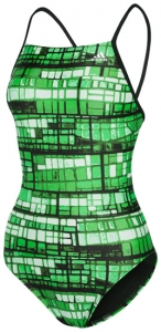 Adidas Stained Glass Lycra Vortex Back Female
