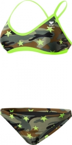 Tyr Camo Star Crossback Workout Bikini 2PC Female