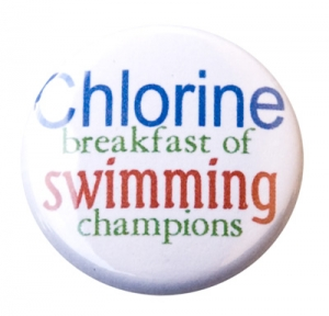 Breakfast of Swimming Champions Button