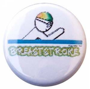 Breaststroke Figure Button