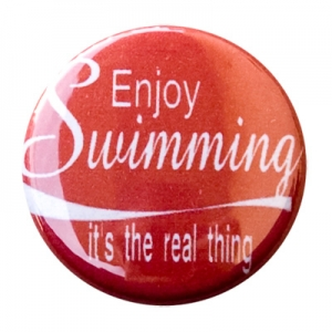 Enjoy Swimming Button