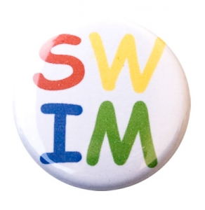 Swim Letters Button