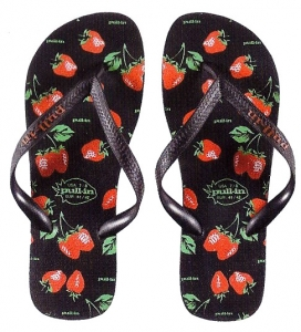 Pull-In Fraises Slaps Sandals Male