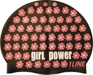 1Line Sports Girl Power Silicone Cap