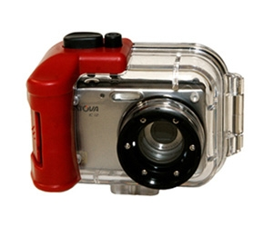 Intova 12MP Digital Camera w/180' Waterproof Housing Clearance