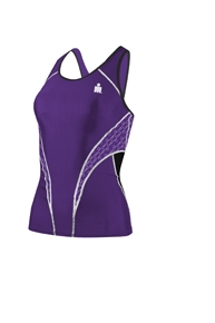 Tyr Ironman Fitted Tankini Top Female