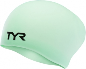 Tyr Long Hair Wrinkle-Free Silicone Swim Cap