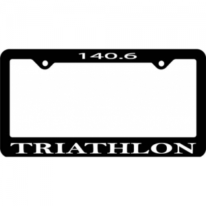 Bay Six 140.6 License Plate Frame