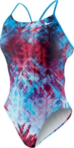 Nike Fractured Tie Dye Cut-Out Tank Female