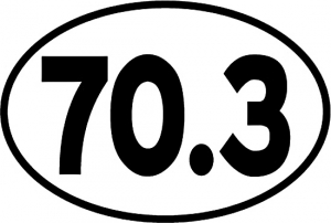 Bay Six 70.3 Oval Decal