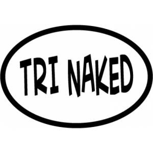 Bay Six Tri Naked Oval Decal