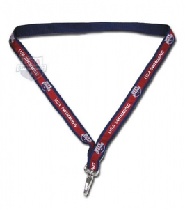 USA Swimming Lanyard