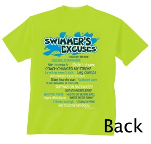 Image Sport Swim Excuses Tee Green