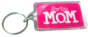 BaySix Swim Mom Keychain