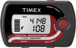 Timex Pocket Pedometer with Belt Clip
