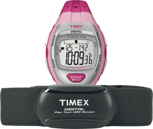 Timex Zone Trainer Digital Flex Tech Heart Rate Monitor