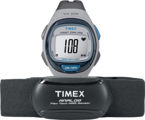 Timex Personal Trainer Flex-Tech Heart Rate Monitor