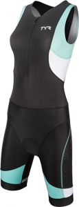Tyr Tri Competitor Trisuit with Front Zipper Female
