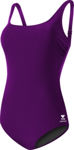 Tyr Solid Scoop Neck Controlfit Female