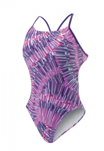 Nike Swim Fan Cut-Out Tank Female