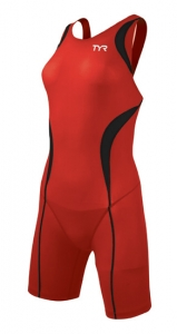 Tyr Carbon Aeroback Short John Female