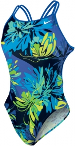 Nike Retro Floral Spider Back Tank Female