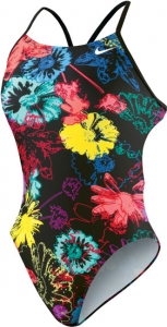 Nike Floral Burst Cut-Out Tank Female