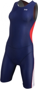Tyr Competitor Trisuit with Back Zipper Female