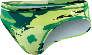 Nike Painted Camo Water Polo Brief Male