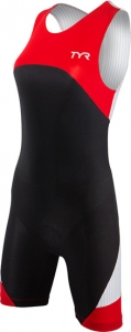 Tyr Tri Carbon Zipper Back Short John w/Pad Female