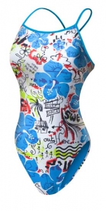 Tyr Graffiti Floral Thin-X Back Female