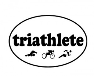 Triathlete Decal
