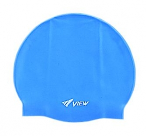 View Solid Silicone Swim Cap