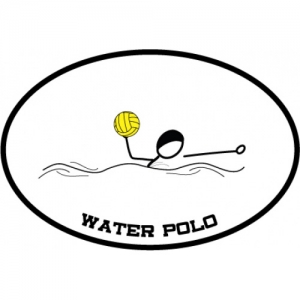 BaySix Water Polo Car Magnet
