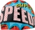 Speedo Boom Pow Silicone Swim Cap - Red