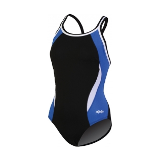 Dolfin Swimwear Chloroban Color Block Dbx Back