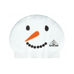 Water Gear Swim Cap SNOWMAN