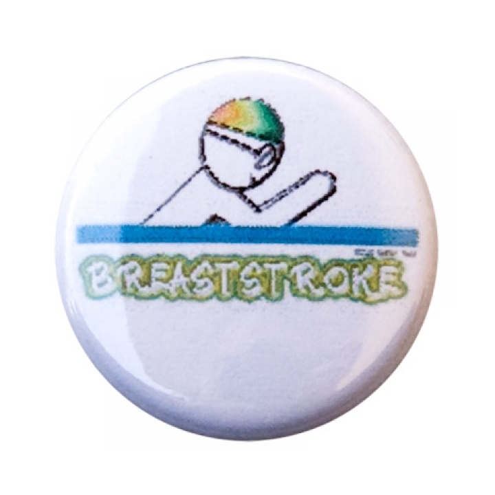 Breaststroke Figure Button product image