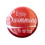 Enjoy Swimming Button product image