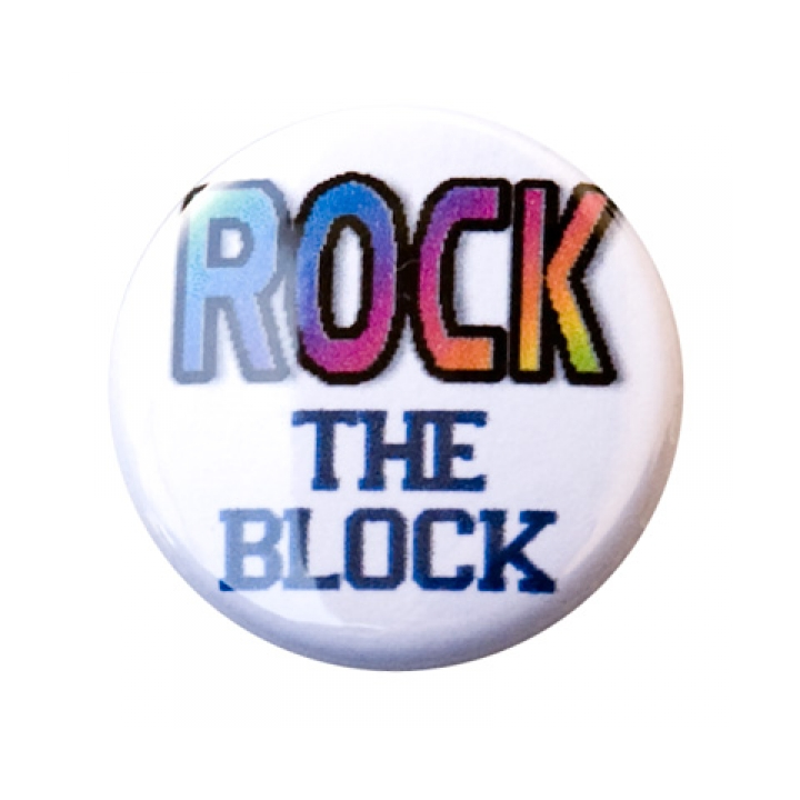 Rock the Block Button product image