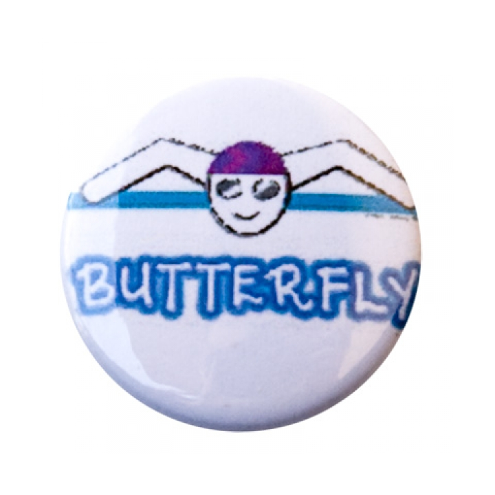 Butterfly Figure Button product image