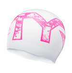 Tyr Pink Camo Silicone Swim Cap product image